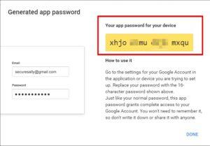 12.Pasword Aplikasi