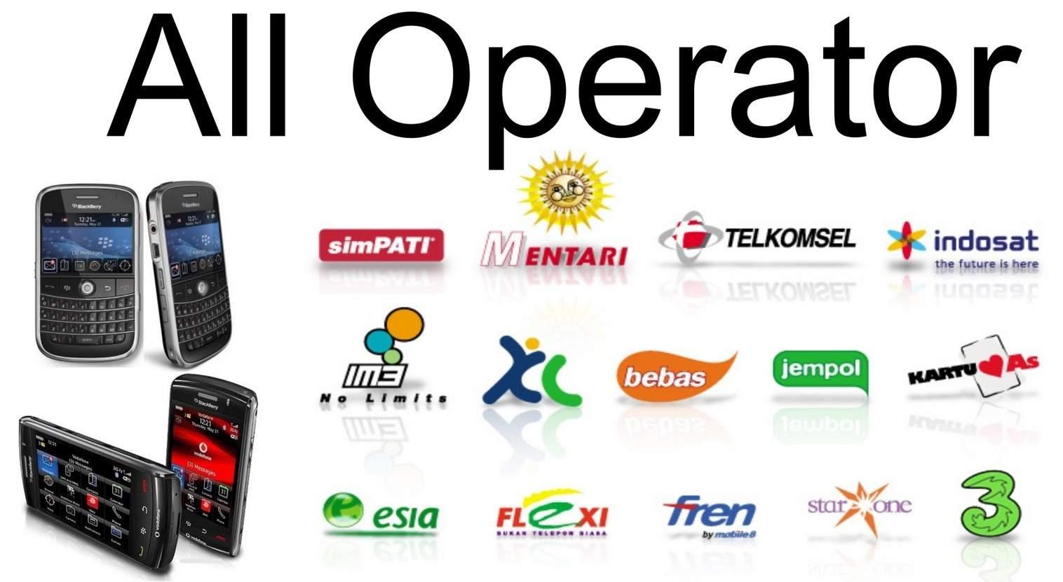 Transfer Pulsa Telkomsel, Indosat, XL, Axis