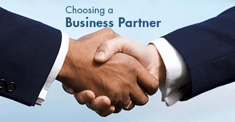 pilih mitra bisnis