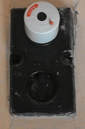 sekering putus