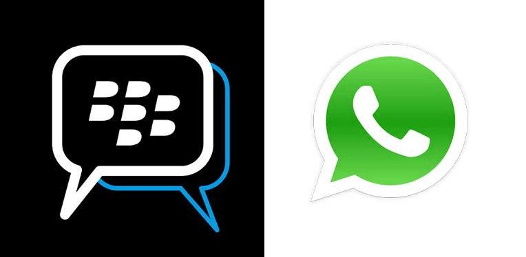 bbm dan whatsapp