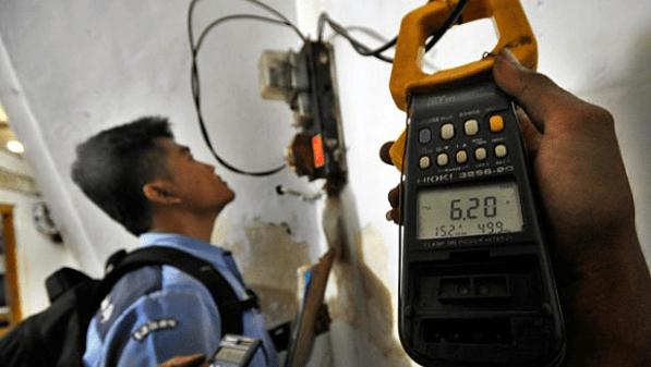 tegangan listrik tidak stabil