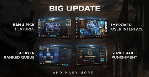 update ban pick