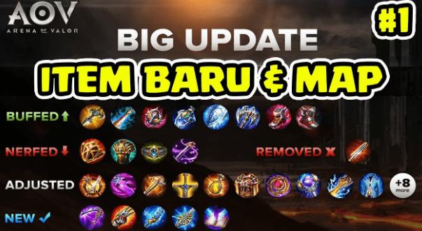 update item