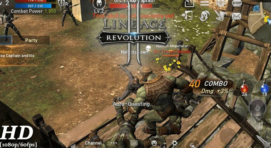 Liniage 2 Revolution