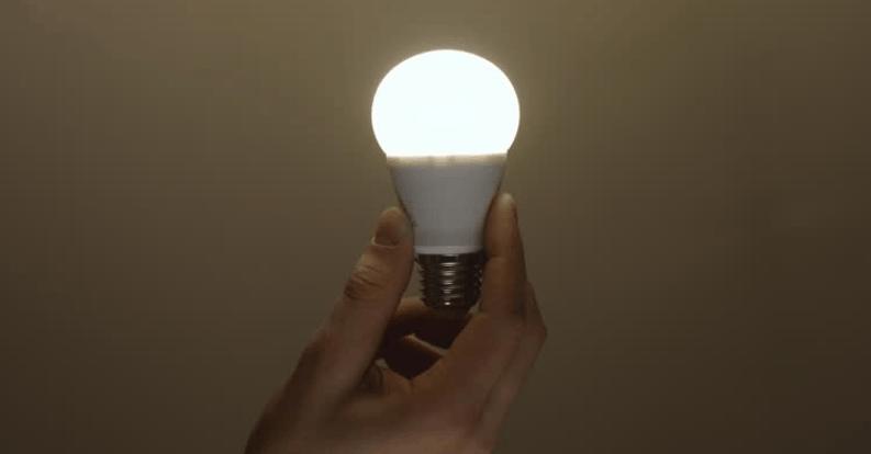 gunakan lampu led